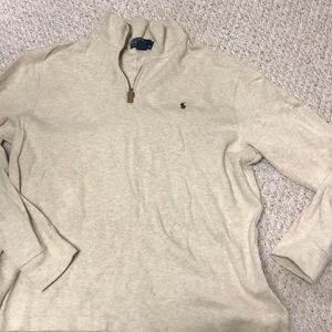 Polo Quarter Zip Sweater!